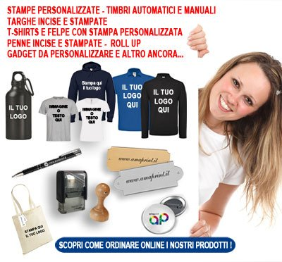 Stampe personalizzate online
